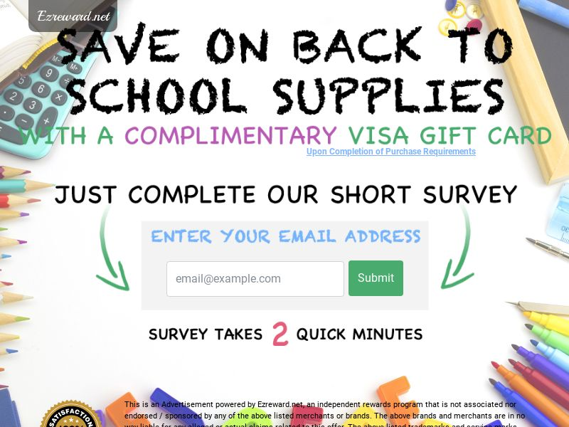 Back to School 2019 - Networks - US (Incent) - CPL - DIRECT