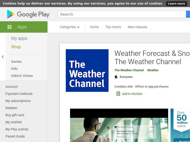 Weather - The Weather Channel AND US