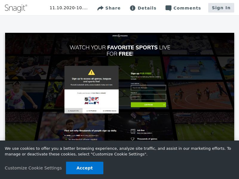 Sports Streaming Signup | NZ,ES