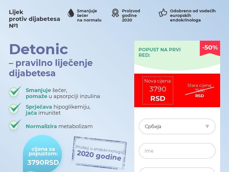 Detonic RS (diabetes)