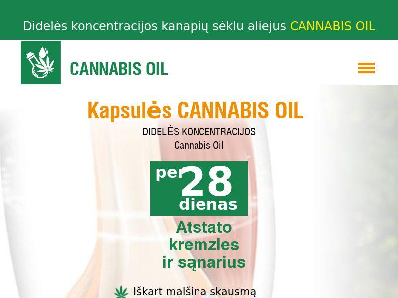 Cannabis Oil LT(joints)