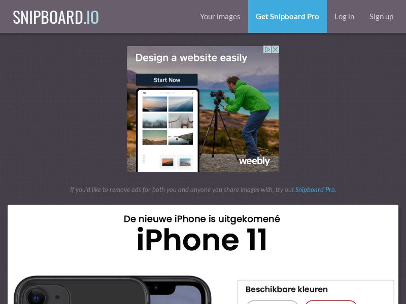 SteadyBusiness - iPhone 11 LP25 BE - CC Submit (dutch)
