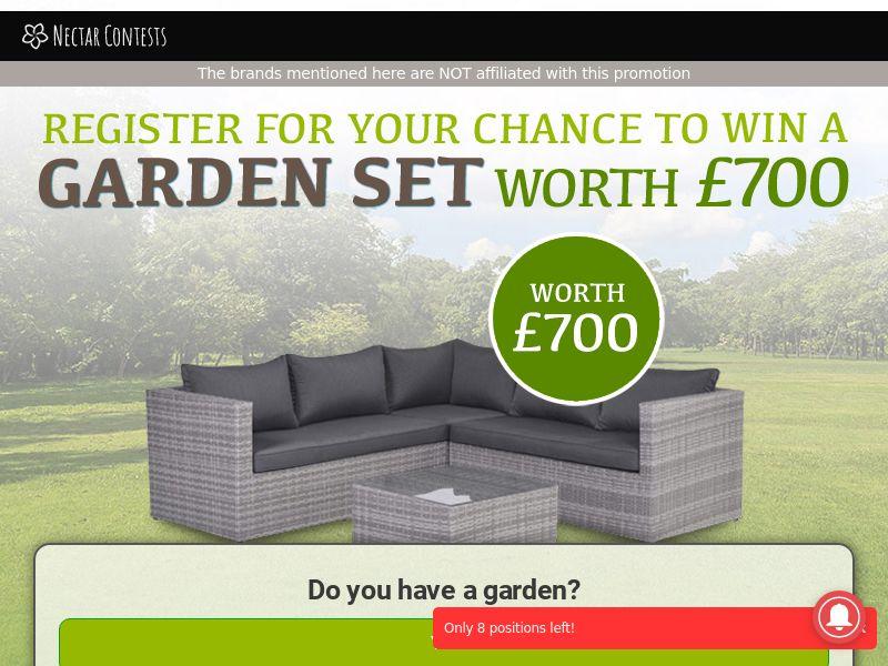 NectarContests - Garden Set CPL [UK]