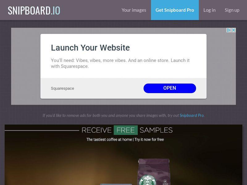 LeadsWinner - Starbucks UK - SOI