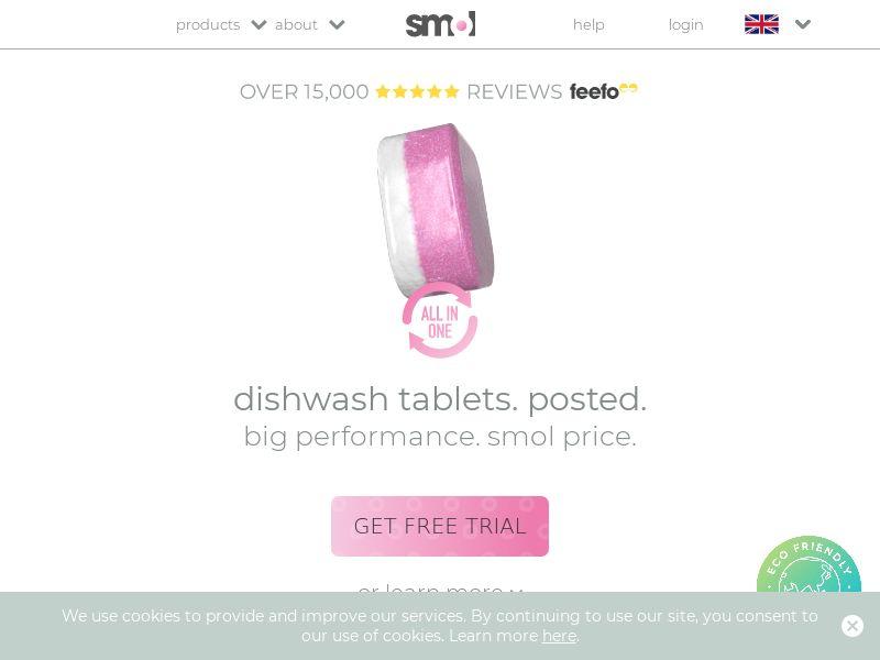 smol - Free Dishwasher Tablets CPA [UK]