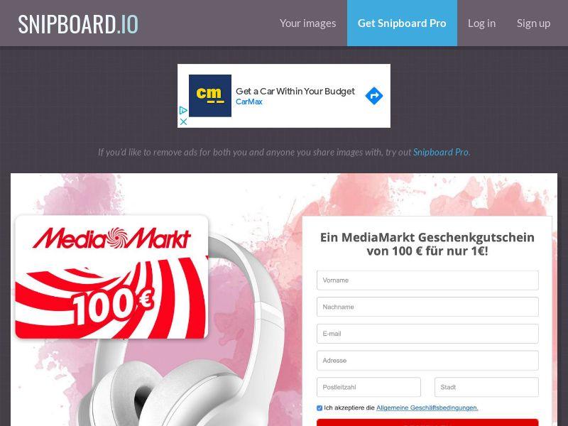 SteadyBusiness - MediaMarkt LP46 DE - CC Submit
