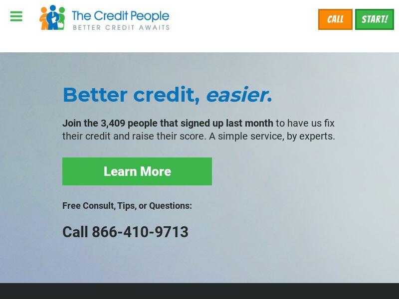 The Credit People - Credit Repair - US [DIRECT]