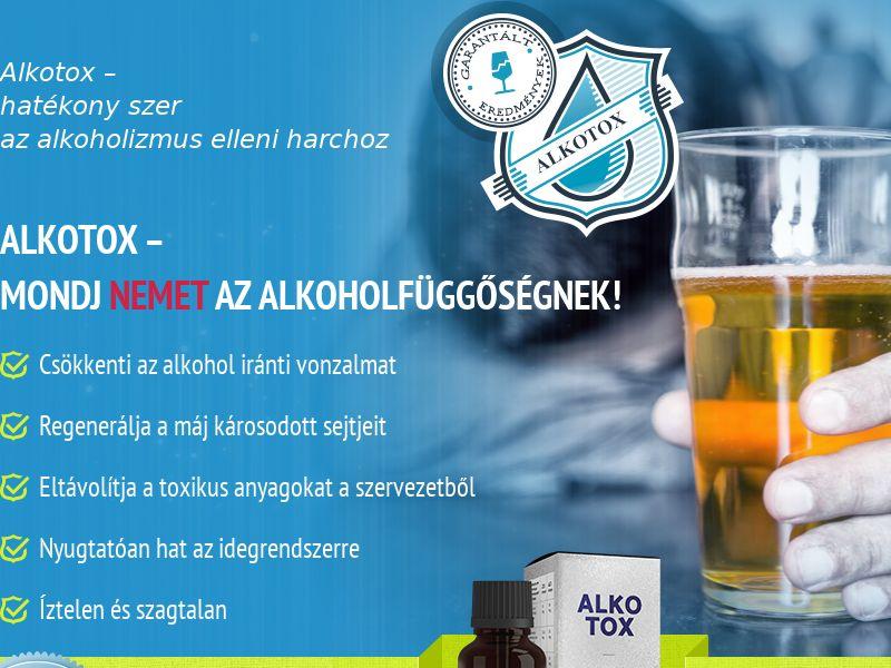 ALKOTOX HU - alcoholism treatment product