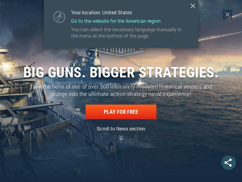 [Desktop Game] World of Warships - SOI - [DACH]