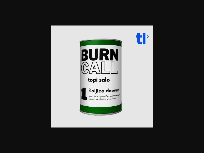 Burn Call - weightloss - CPA - COD - Nutra