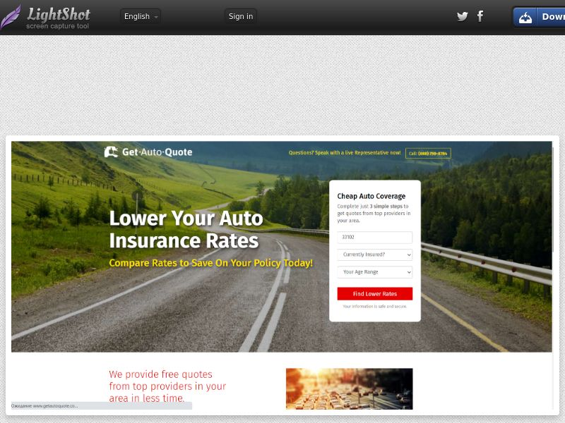 GetAutoQuote's Insurance (US) (CPL) (Personal Approval)