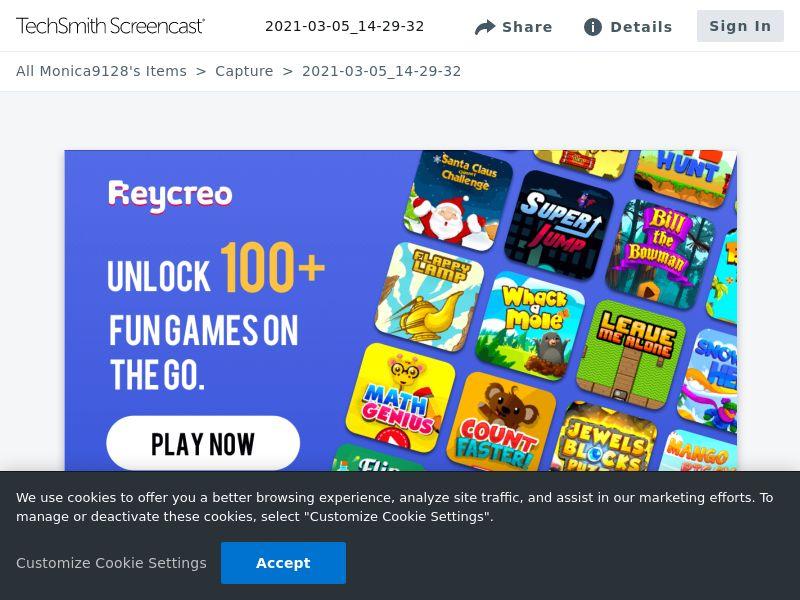 Reycreo Games-MTN ZA - / 2 clicks