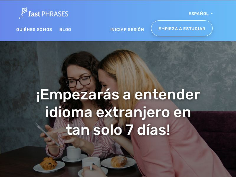 Fast Phrases - Learn New Languages - (English, Spanish, French, etc.) (CPS) - Multi GEOs (AR CR CO CL EC BO DO GT HN MX PR PY PA UY US SV )