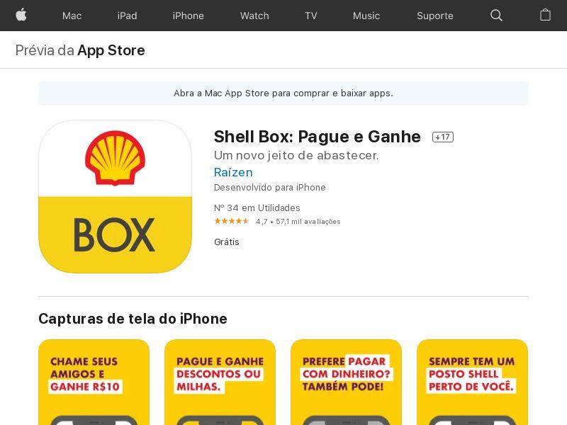 Shell iOS BR