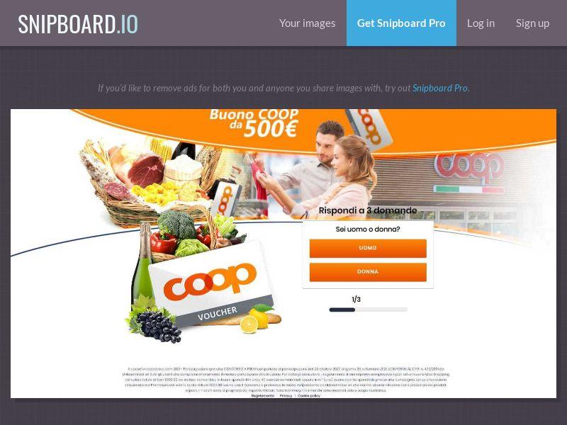 39923 - IT - LeadMedia - COOP Supermarket - SOI