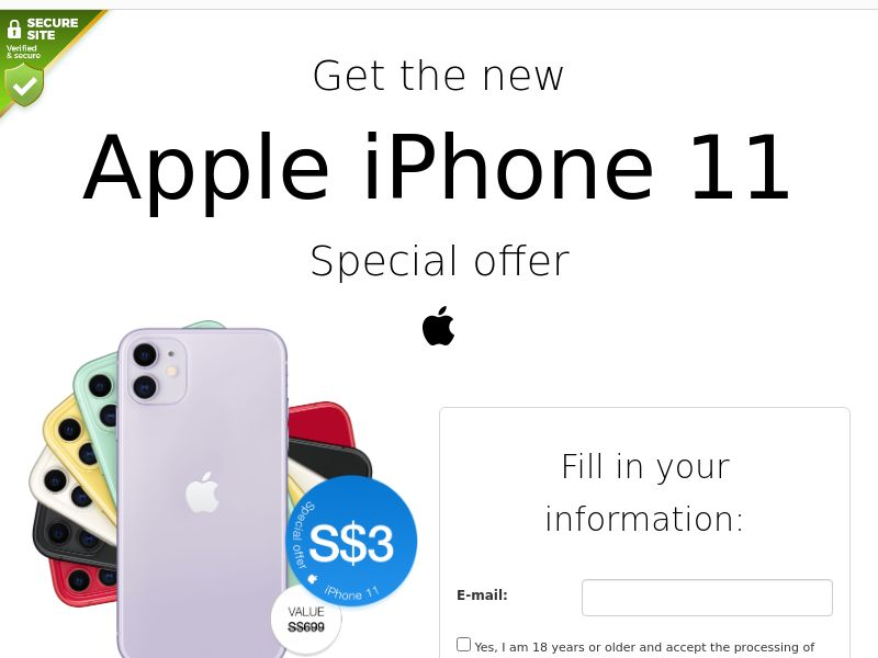 iPhone 11 - SG