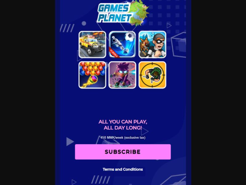 Gameplanet - 2 Clicks - MM-Tele - Online Games - Mobile