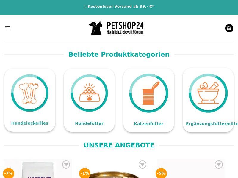 PetShop24 - DE (DE), [CPS]