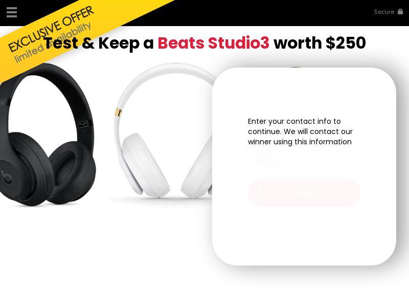 Test beats studio3 - US