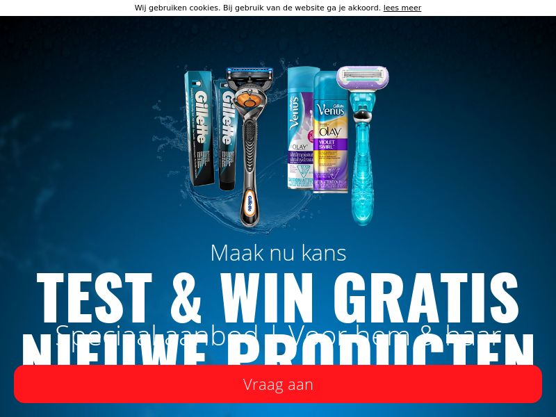 (13216) [WEB+WAP] T&K Gillette - NL - CPL