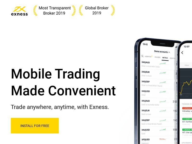 Exness Trader - SOUTH KOREA - Android (CPA)