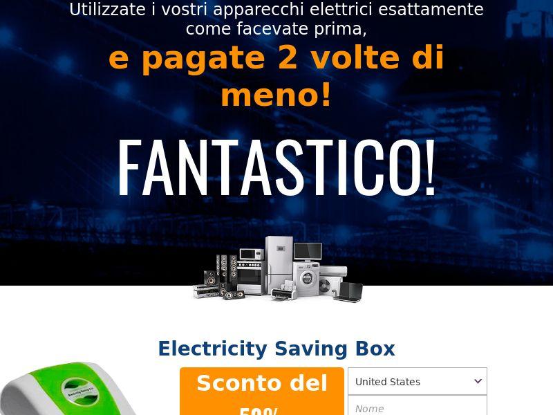 Electricity saving box - IT