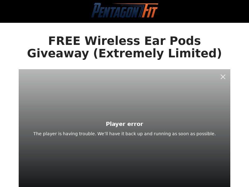 PentagonFit EarPods (CC Submit) - eCommerce - US