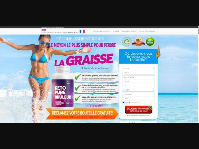 Keto Pure Bruleur - Diet & Weight Loss - SS - [FR]
