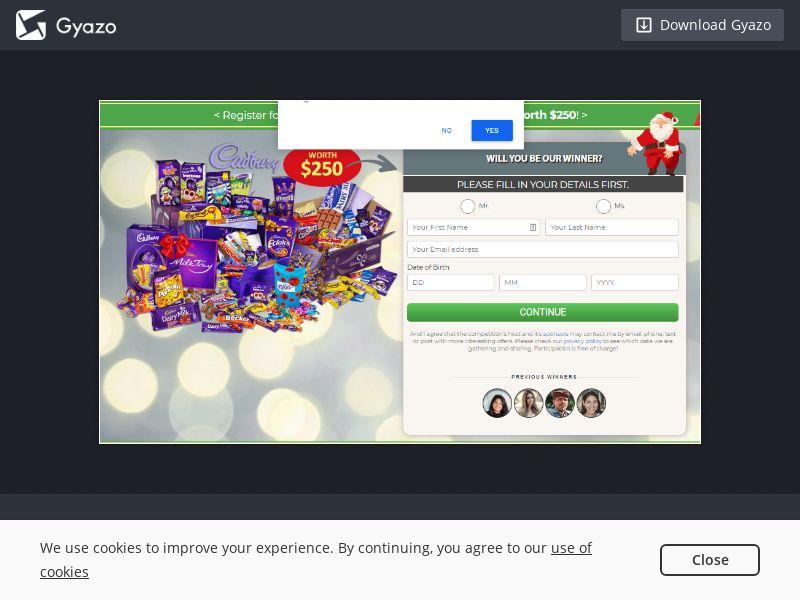 Quiztionnaire Cadbury Christmas AU | SOI CPL