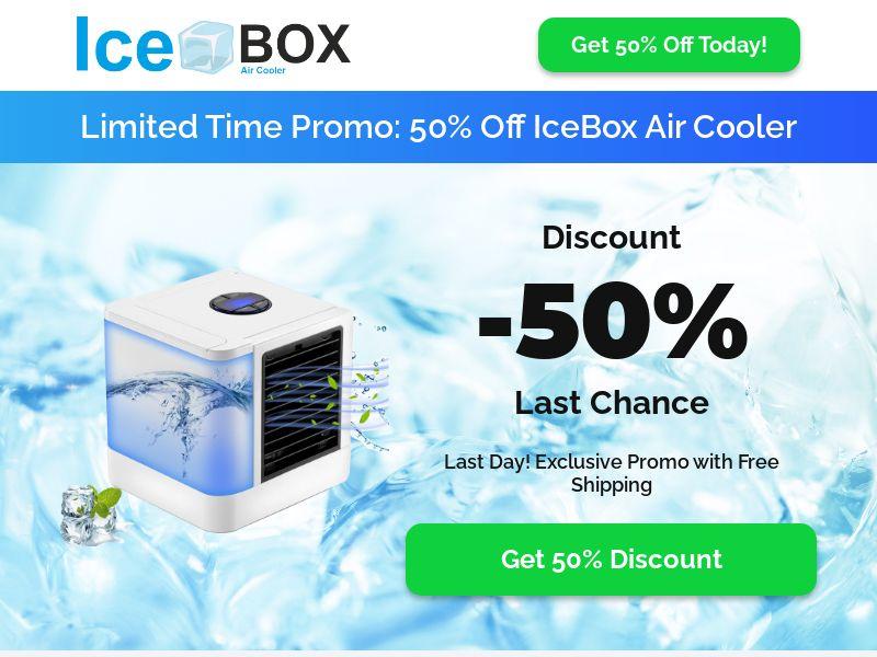 IceBox Air Cooler - Mini AC - CPA - INTERNATIONAL]