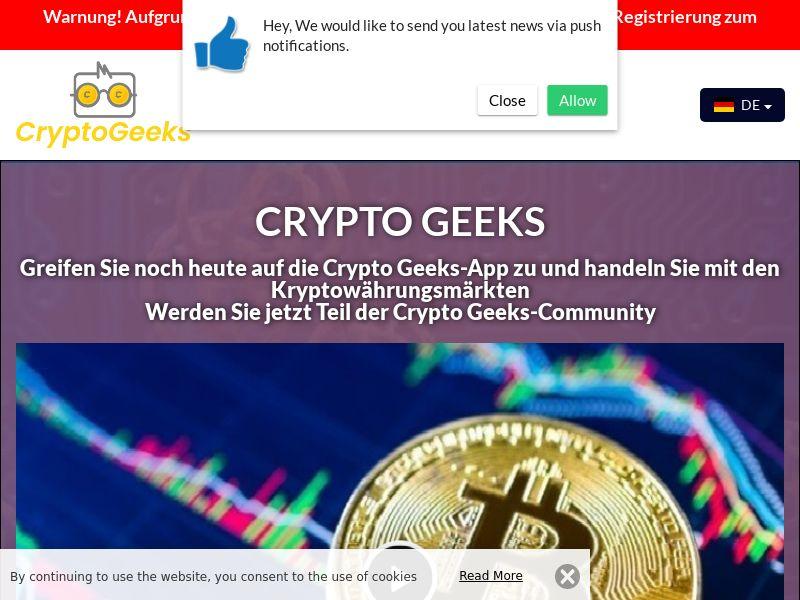 Crypto Geeks German 4154