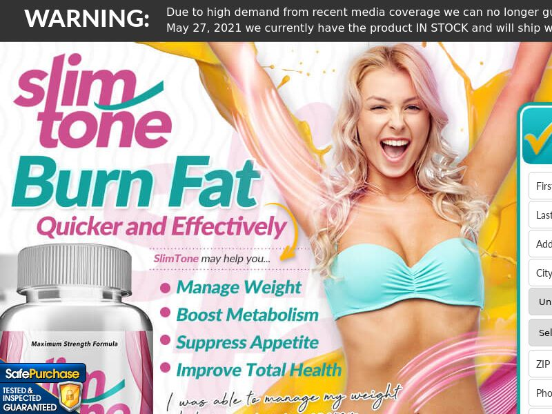 Slim Tone Keto (Trial W/1 Click Upsell) (US) (SMS Allowed) (Survey Allowed) (50% Rebill Required)