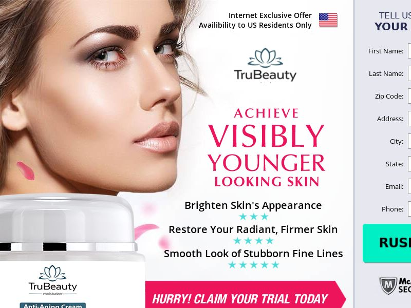 TruBeauty Anti-Aging Cream (CC Trial) - Beauty - US