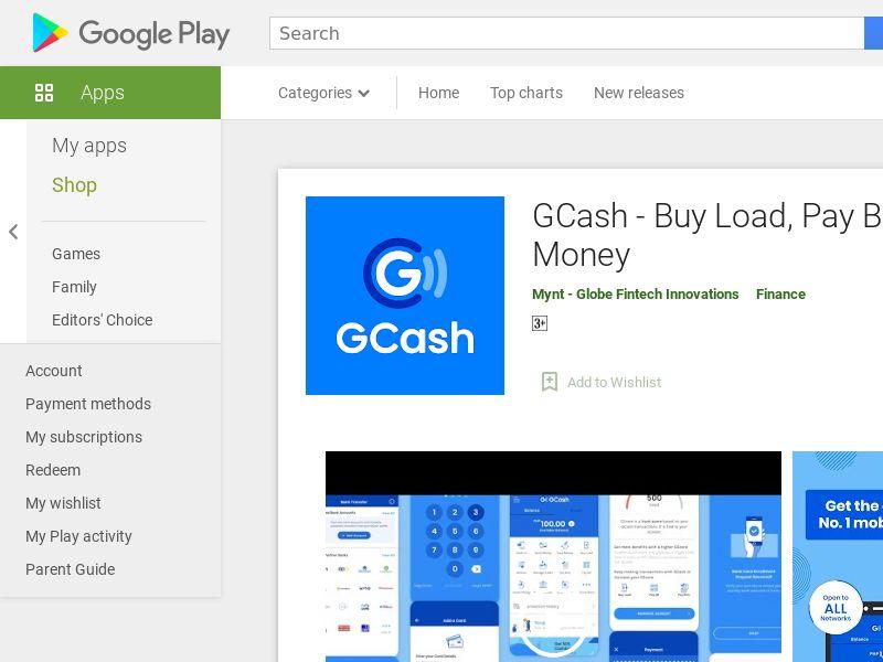 GCash (Android 8.0+) PH - Non incent