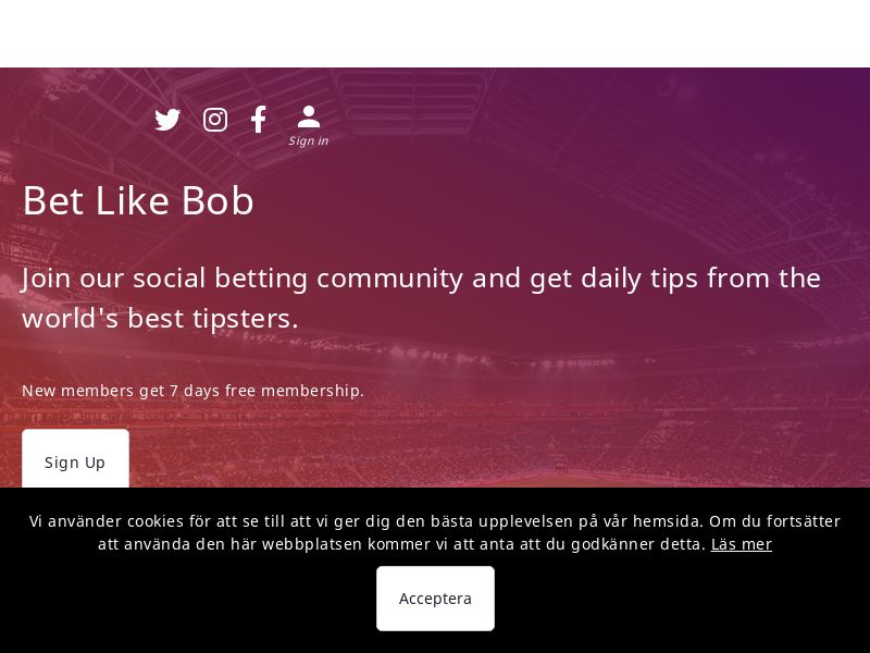 Bet Like Bob - UK (GB), [CPS]