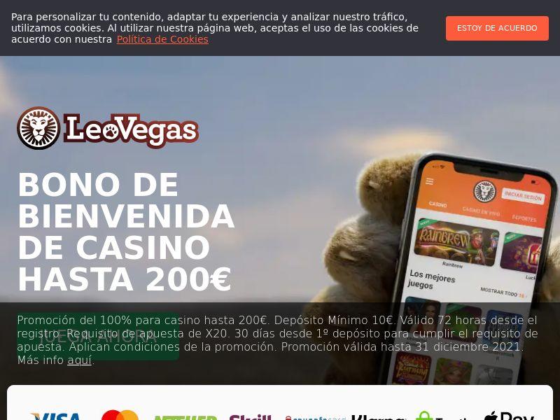 Leo Vegas - Casino - SPAIN - (CPA)