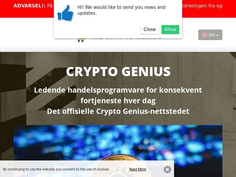 Crypto Genius Norwegian 2428
