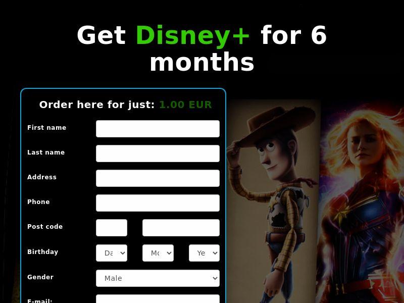 Disney+ (6 Month) - IE