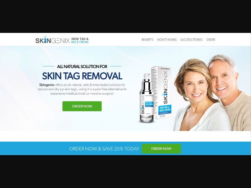 Skingenix - CC Submit - US - Well-being - Responsive