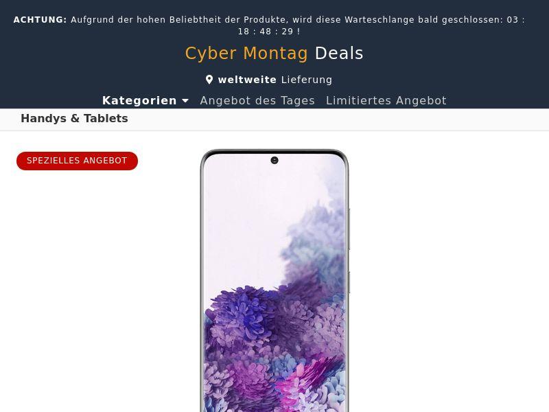 Samsung Galaxy S20 (Amazon) - DE