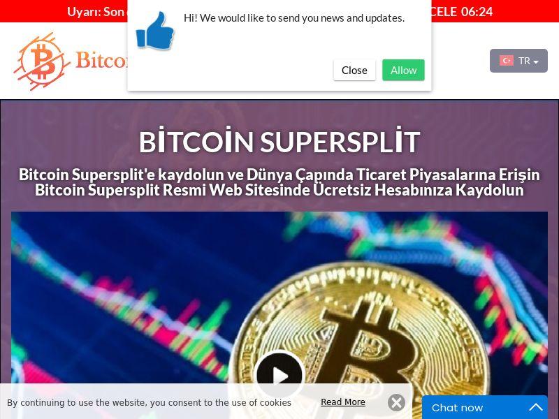 Bitcoin Supersplit Turkish 3620