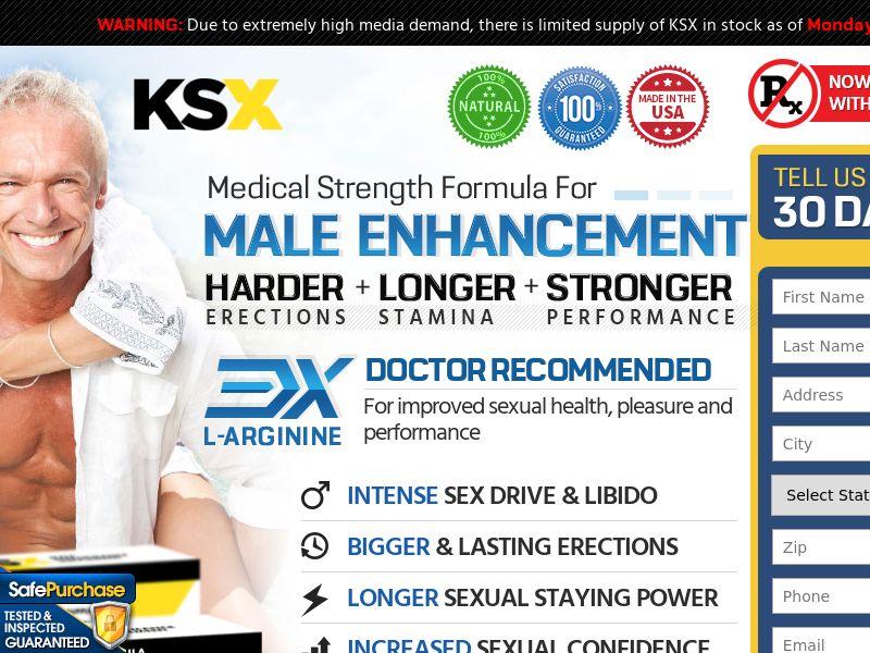 KSX Men's Health - Older Demo (CC Trial) - Health/Nutra - US