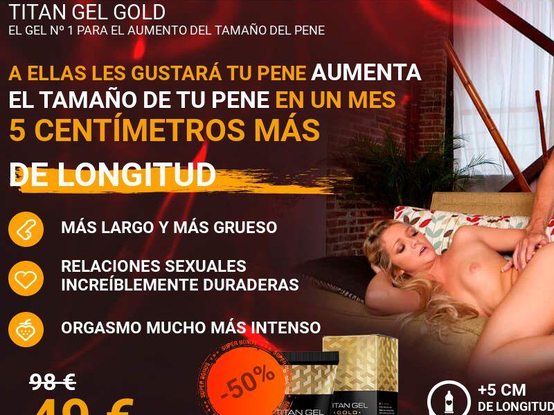 Titan Gel Gold - ES (ES), [COD], Health and Beauty, Cosmetics, Sell, coronavirus, corona, virus, keto, diet, weight, fitness, face mask