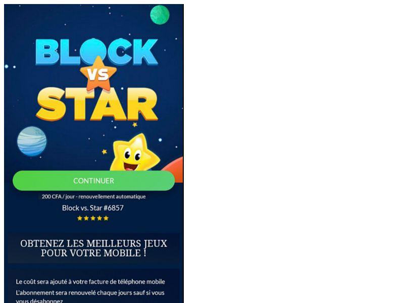 Block vs Stars Orange