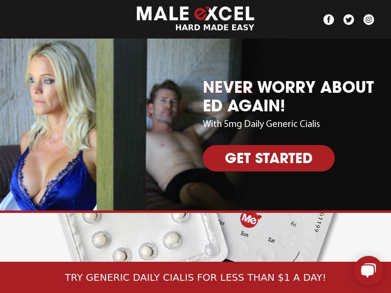 Male Excel - Generic Daily Cialis