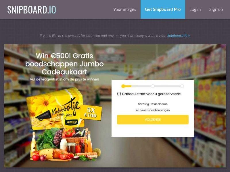 37440 - NL - WinAds - Jumbo Supermarket - SOI