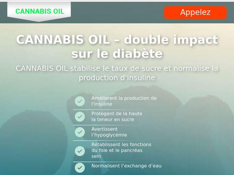 Cannabis Oil FR (diabet)