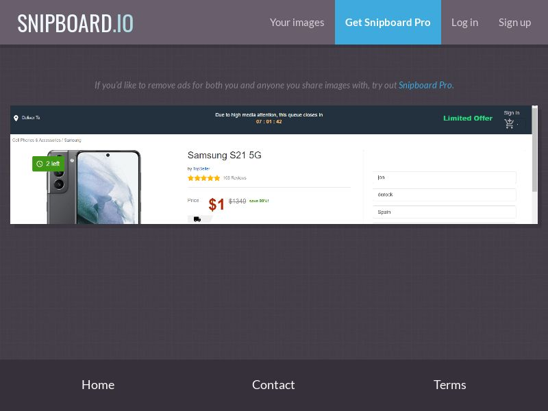 39989 - FR - BE - OrangeViral - B - Win a Samsung S21 (FR/BE) - CC submit