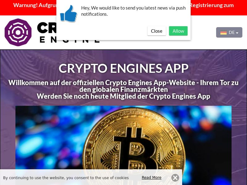 Crypto Engines App German 2552