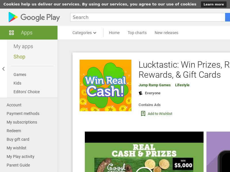 Lucktastic_Android_US (m) (manual) (INCENT) (CPE=offer wall)